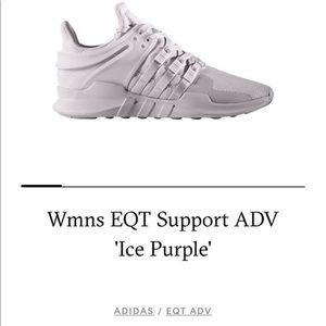 Women's Adidas EQT Ice Purple